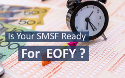 SMSF forms at End of Financial Year